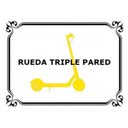 Rueda Triple Pared